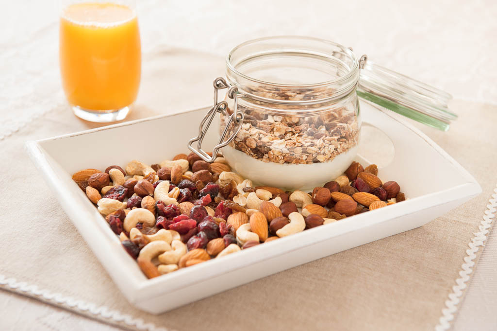oats and juice